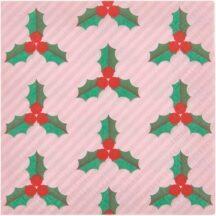 Papierserviette Weihnachten Ilex