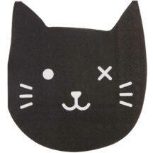 Papierservietten Katze