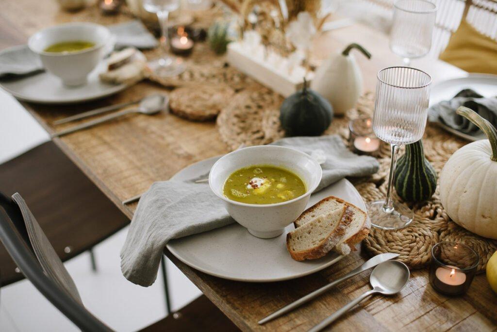 Rezept: Grüne Kürbissuppe