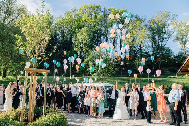 Hochzeit in der Scheune