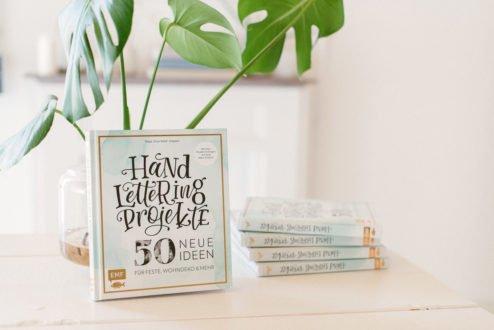 50 Handlettering Projekte Frau Hölle Buch