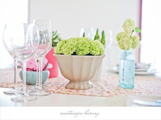 Luftig leichte Hochzeitsdeko in Pastellfarben