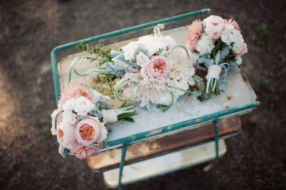 Ein Sträußchen für die Brautjungfern