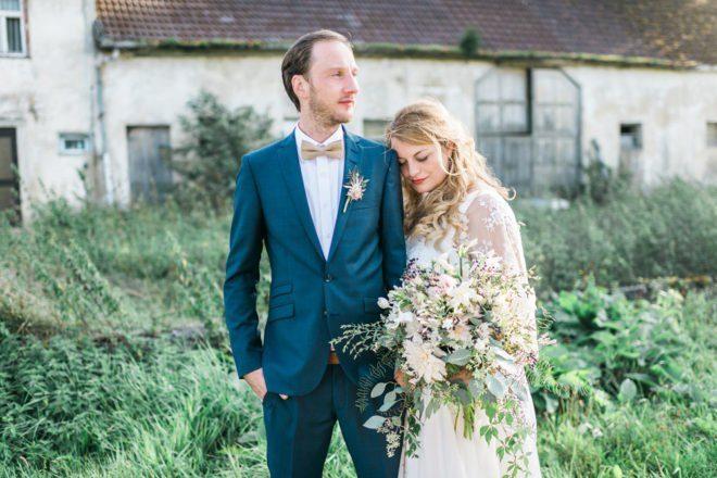 Boho Hochzeit im Garten
