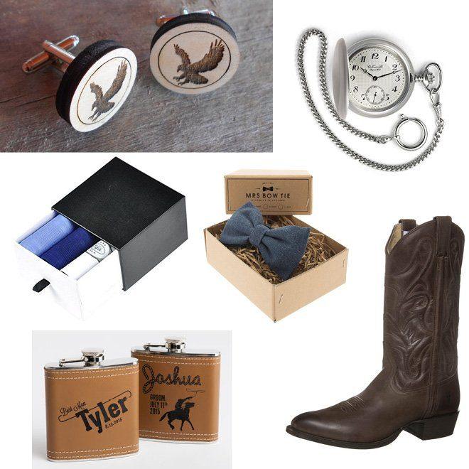 Accessoires für den Bräutigam einer Cowboy Country Hochzeit
