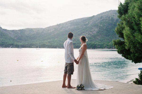 Analoge Hochzeitsfotos von Katja Scherle
