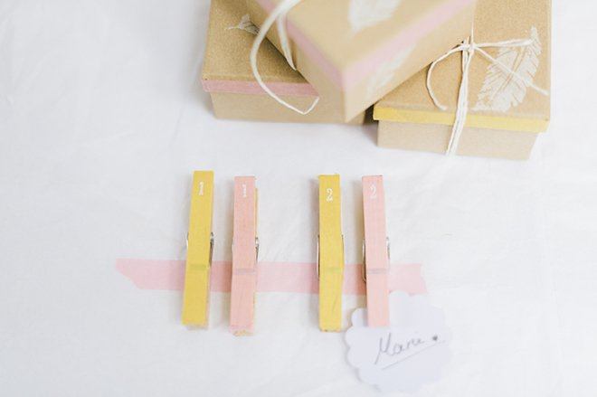 Anleitung DIY Stempel auf Kraftpapier selbst herstellen für die Hochzeit2