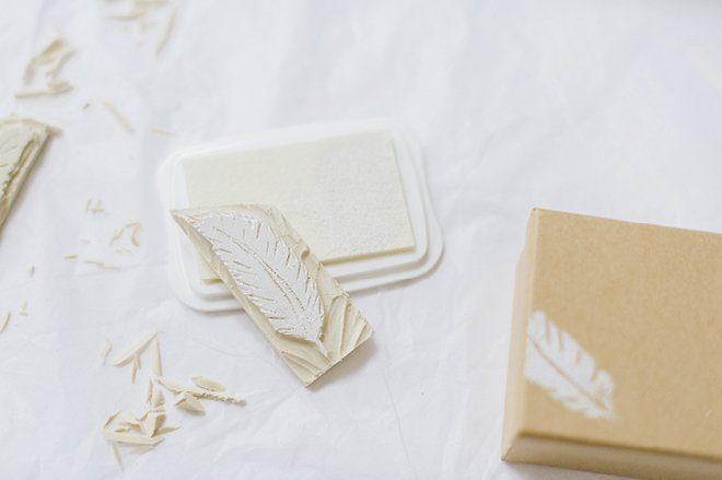 Anleitung DIY Stempel selbst herstellen für die Hochzeit6