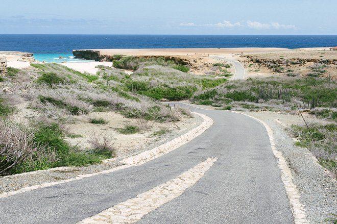 Traumstrand Boca Prins Aruba