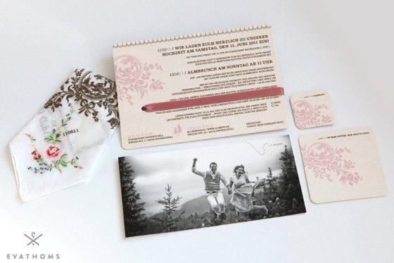 hochzeitseinladungen bayerisch