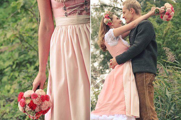Bayrisch Hochzeit mit Dirndl13