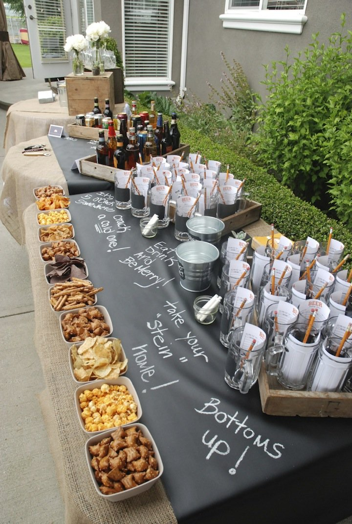 Alternative zum Sektempfang: Bierbar bei der Hochzeit