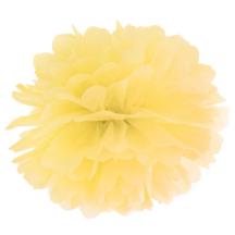 Seidenpapier Pompom gelb in verschiedenen Groeßen - Frl. K sagt Ja