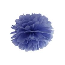 Seidenpapier Pompom dunkelblau