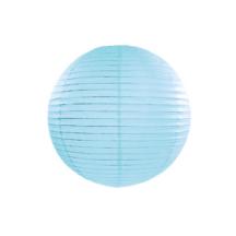 Papierlampion aqua