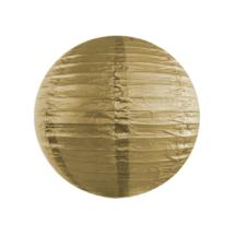 Papierlampion gold - Frl. K sagt ja