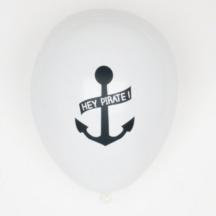 Luftballon Pirat Anker Kindergeburtstag