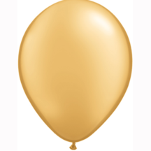 Luftballon Latex Gold