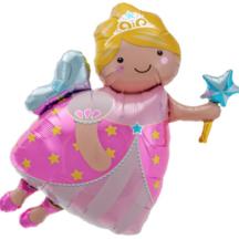Ballon Kindergeburtstag Gute Fee Northstar