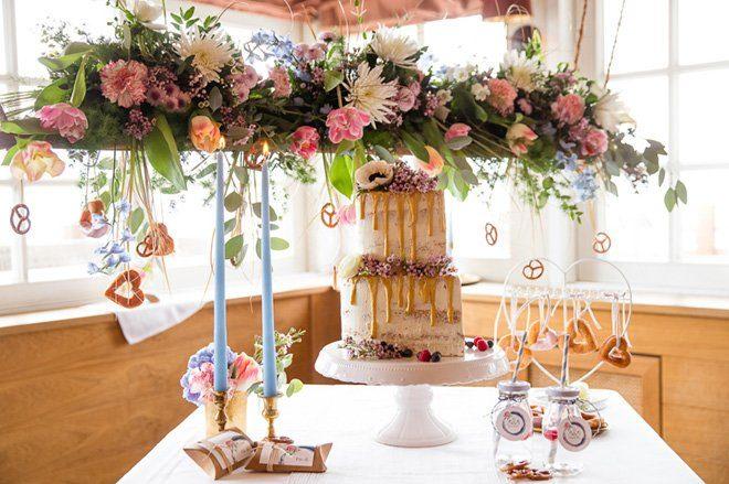 Boho bayrisches Hochzeitskonzept13
