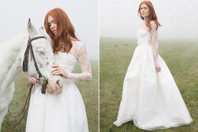Brautkleider mit Spitze von Efenkleid2