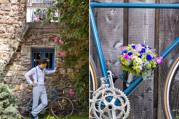 Brautpaar mit dem blauen Rad10