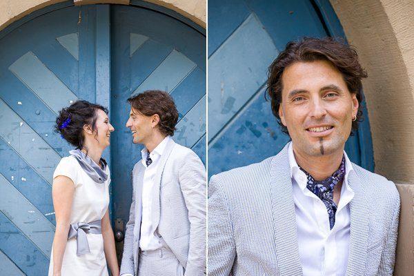 Brautpaar mit dem blauen Rad4