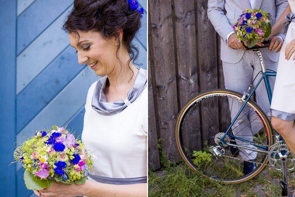 Brautpaar mit dem blauen Rad5