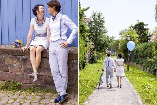 Brautpaar mit dem blauen Rad8
