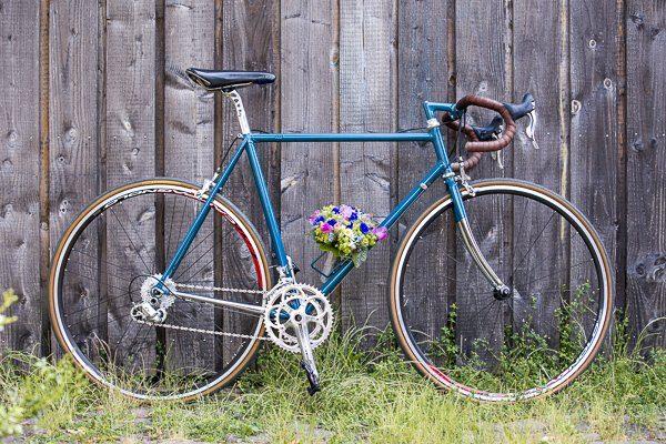 Brautpaar mit dem blauen Rad9