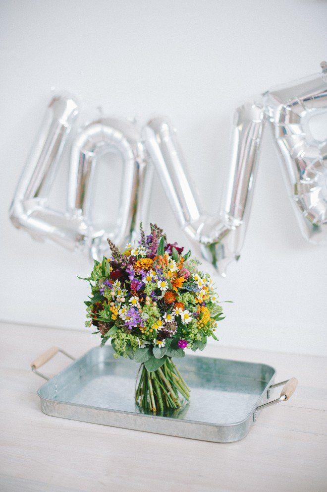 Brautstrauß August