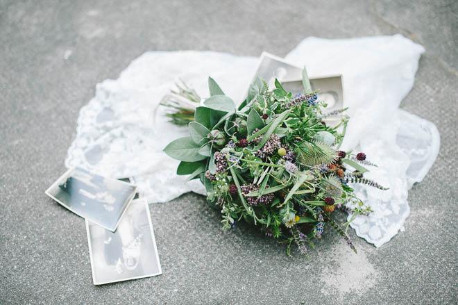 Brautstrauß mit Kräutern Juli 3