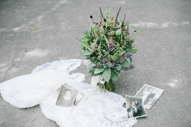 Brautstrauß mit Kräutern Juli 5