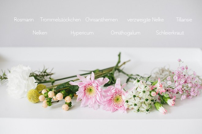 Brautstrauss Galerie Mai Rose Gelb Und Grau Luftig Und Verspielt