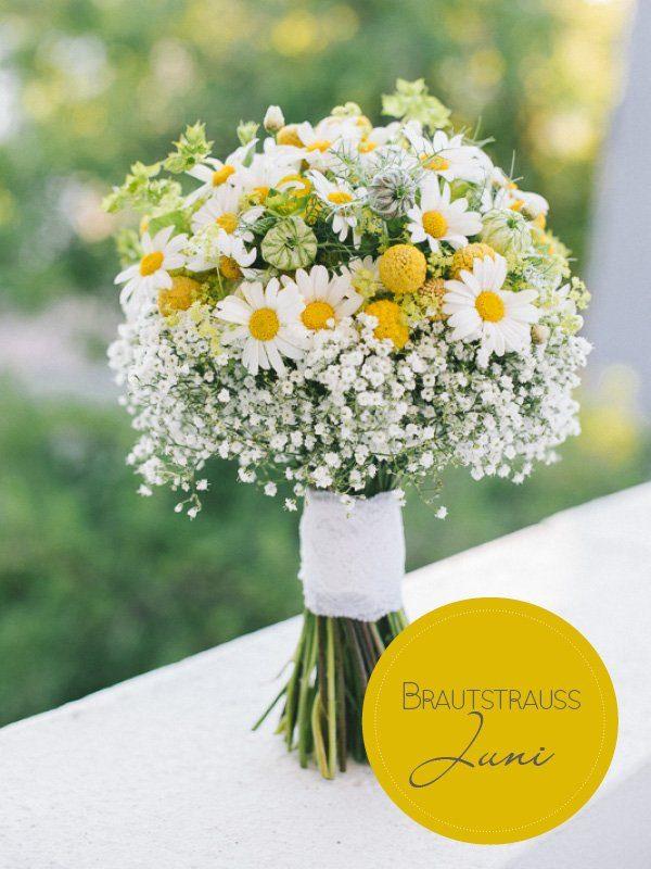 Brautstrauß des Monats: Ein fröhlicher Sommerstrauß - Hochzeitsblog ...