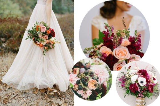 Brautsträuße im Spätsommer & Herbst