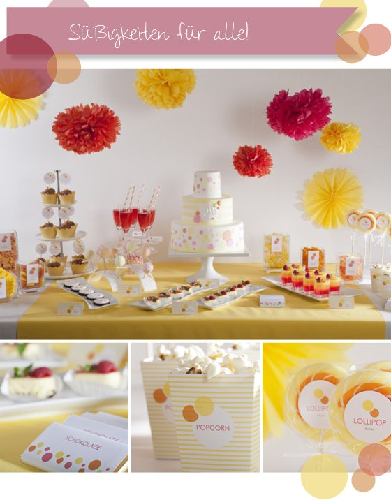 Unwiderstehlich – Sweet Candy Table