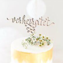 Cake Topper Holz -16