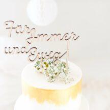 Cake Topper Holz -21