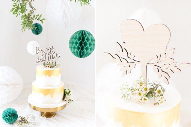 Cake Topper - Schriftzug als Tortenfigur auf Hochzeitstorten made by Frl. K sagt Ja4