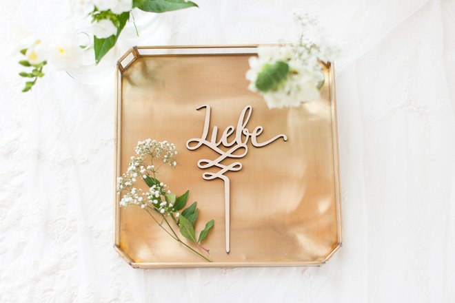 Cake Topper - Schriftzug als Tortenfigur auf Hochzeitstorten made by Frl. K sagt Ja6