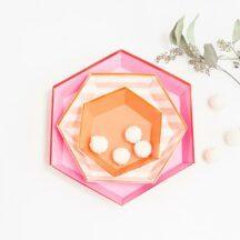 Candybar Pappteller Set Meri Meri Toot Sweet-001