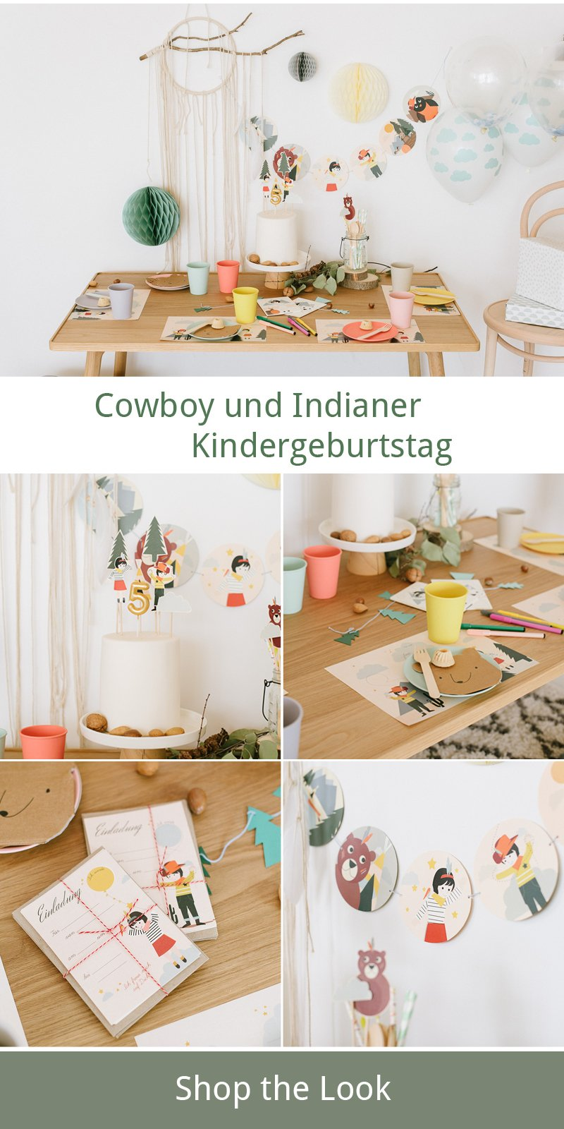 cowboys und indianer s e kindergeburtstagsidee fr ulein k sagt ja hochzeitsblog. Black Bedroom Furniture Sets. Home Design Ideas