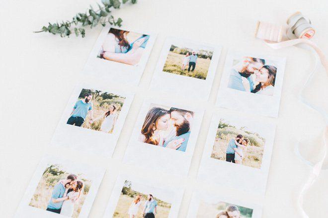 DIY Anleitung zum Bastel einer Fotodekoration2