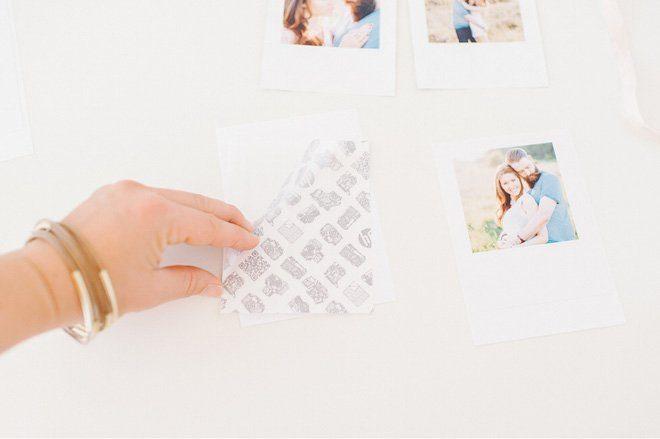 DIY Anleitung zum Bastel einer Fotodekoration3