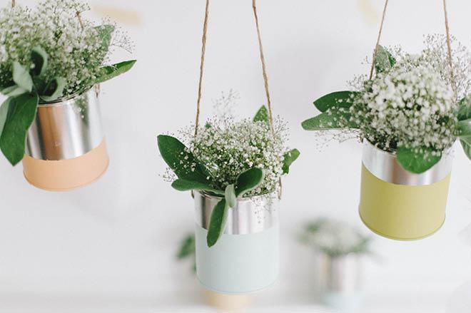 DIY Bastelanleitung für eine Blumendeko in der Kirche oder bei der Hochzeit_