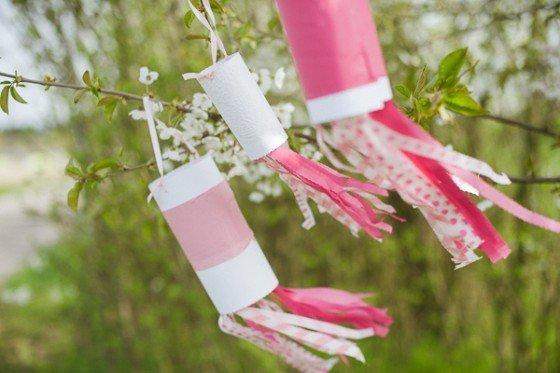 DIY Hochzeitsdeko: ein Windspiel für Eure Location