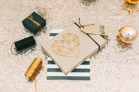 DIY Weihnachtskarten alias verspätete Dankesgrüße der Hochzeit