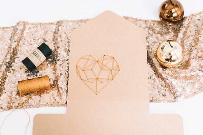 DIY Fotobox mit gesticktem Herz aus Kupfergarn5