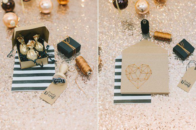 DIY Fotobox mit gesticktem Herz aus Kupfergarn8